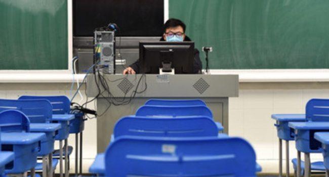 китай-перейдет-на-онлайн-образование-из-за-вируса